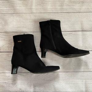Ara - Gore-tex Black Heeled Boots - US 7 (UK 4.5)